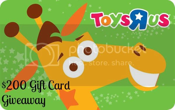 $200 Toys-R-Us Gift Card Giveaway