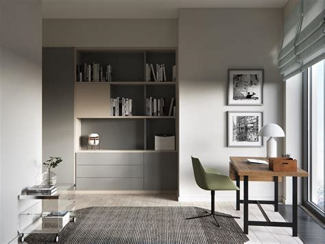 sleek modern home   stylish young family
