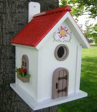 Woodwork Birdhouse  Plans Book  PDF Plans