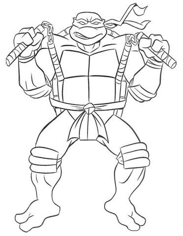 Disegni Da Colorare Tartarughe Ninja Coloratutto Website