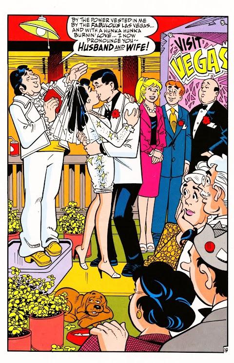 Archie Comics Reggie And Veronica