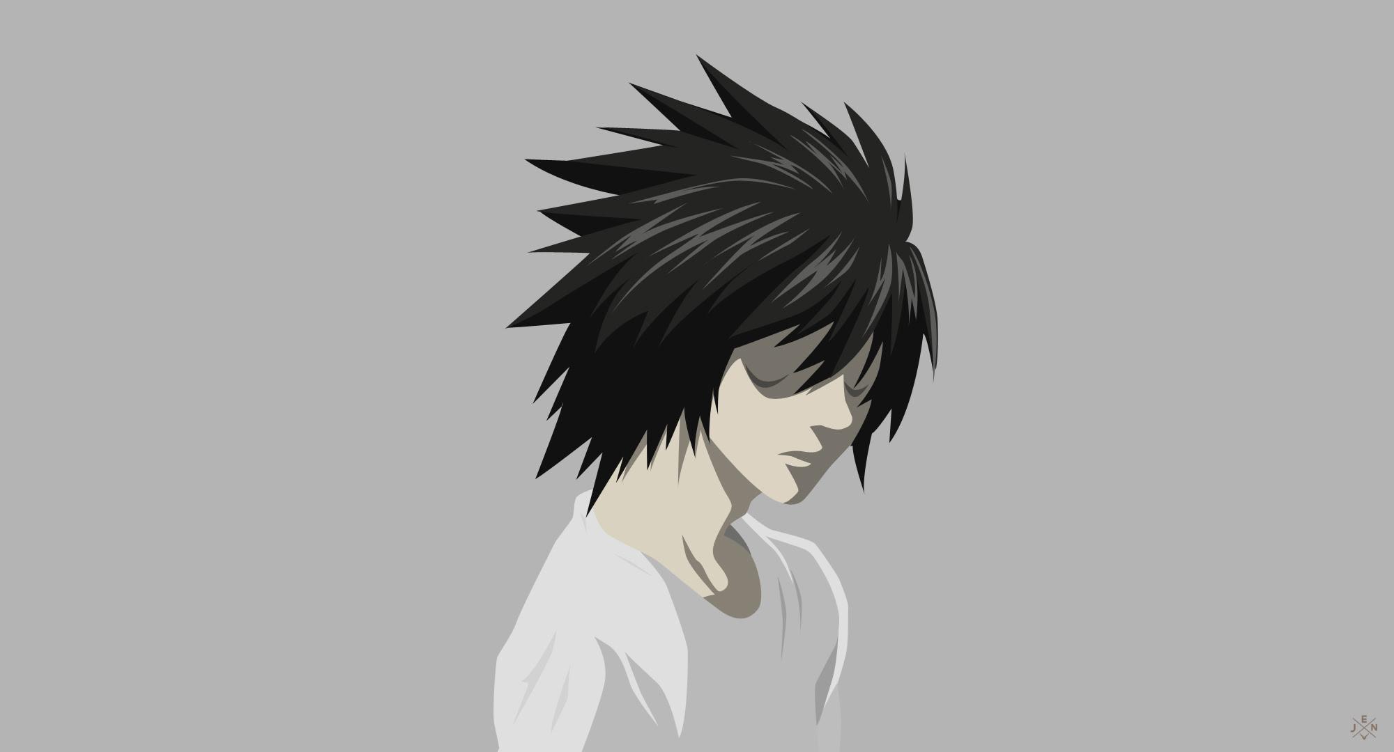 L (Death Note) by jmsedwrd on DeviantArt