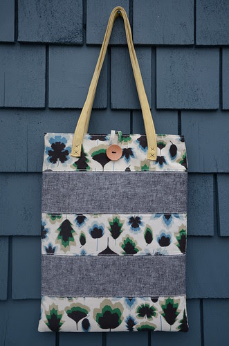 Around Town Tote by Poppyprint