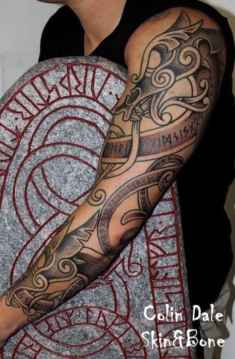 31 Viking Tattoos to Inspire the Norse in You | Inked ...