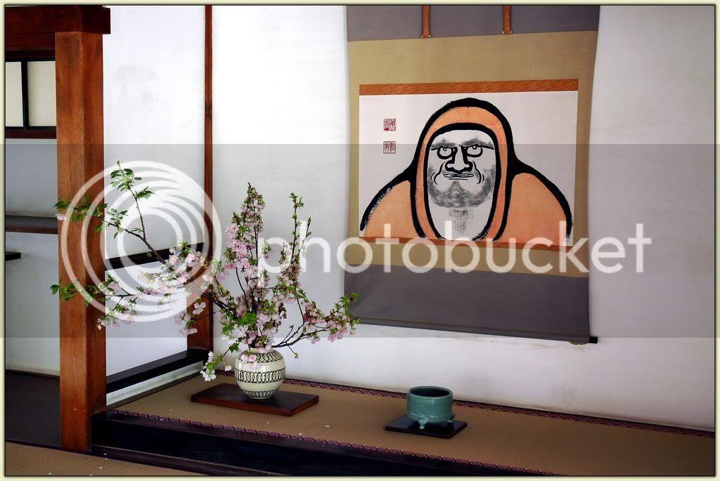 Tokonoma at Tenryu-ji