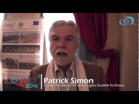 Interview de Patrick Simon, CRT de la région de Guelmir Es-Smara