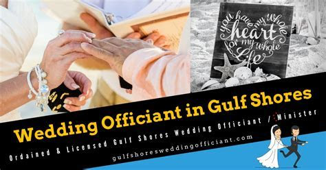 Affordable Gulf Shores Wedding Officiant Packages