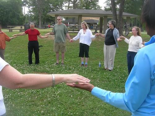 World Tai Chi & Qigong Day, Shreveport: energy circles by trudeau