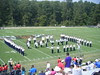 Football marching band @ etbu