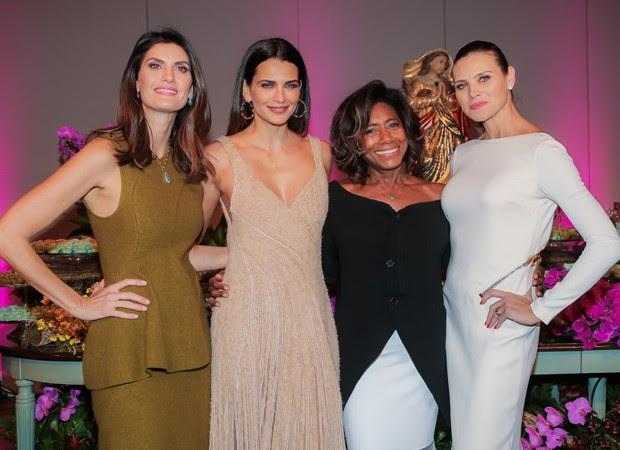 Isabella Fiorentino, Fernanda Motta, Glória Maria, Maythê Birman (Foto: Manuela Scarpa/Brazil News)