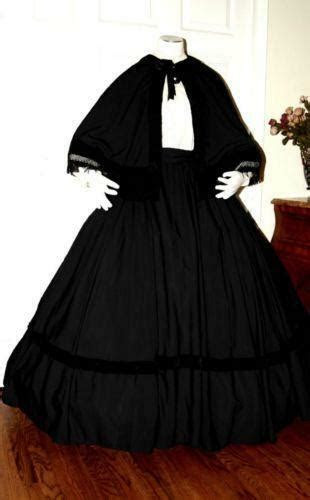civil war mourning dress ebay
