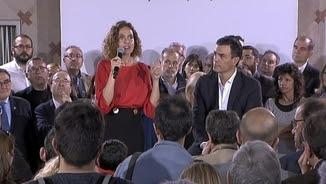 L'encarregat de presentar la candidata del PSC ha estat Pedro Sánchez