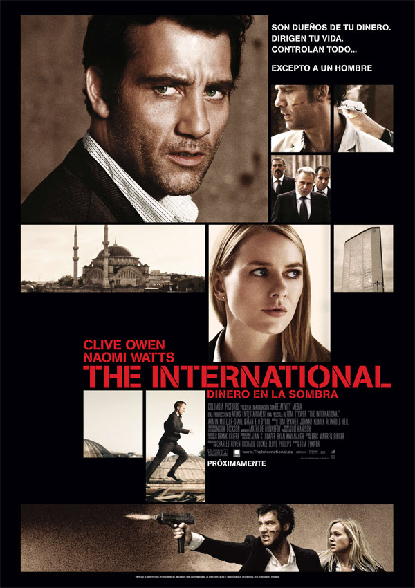 The International: Dinero en la sombra (Tom Tykwer, 2.009)