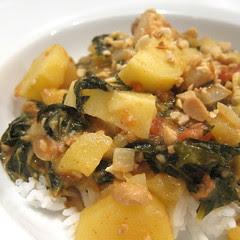 West African Peanut & Chicken Stew