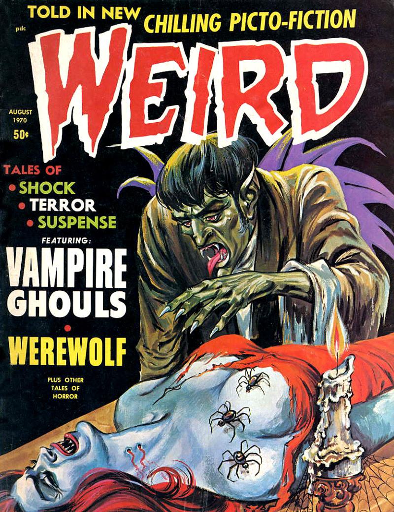 Weird Vol. 04 #4 (Eerie Publications, 1970)