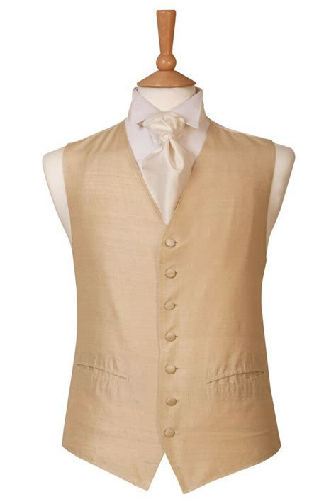 mens  page boys silk gold silk wedding dress suit
