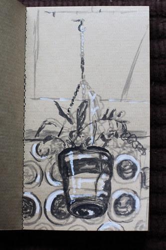 Planter sketch @ Flying Saucer