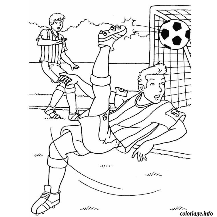 Coloriage Foot Om Jecoloriecom