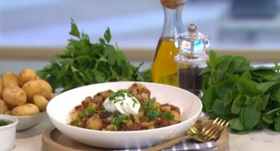 Phil Vickery Spring Cookery: Jersey royals 3 ways with ...