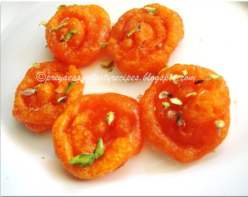 Mini jalebis