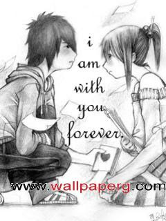 Download With U Forever Saying Quote Wallpapers For Your Mobile
