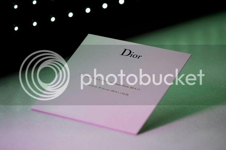défilé Dior automne hiver 2014/15 par Raf Simons livestreaming