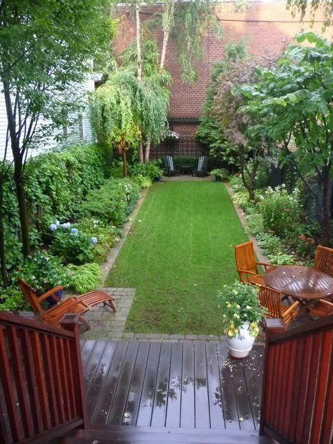 Ideas for small narrow backyards