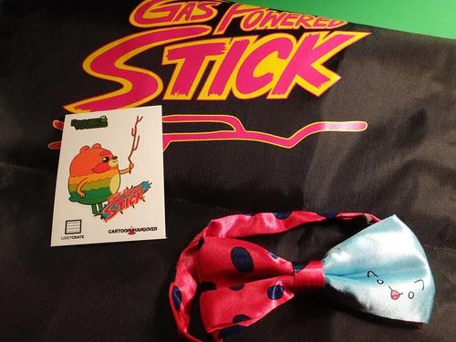 Loot Crate: Warriors! Sack, Sticker & Catbug Bow Tie