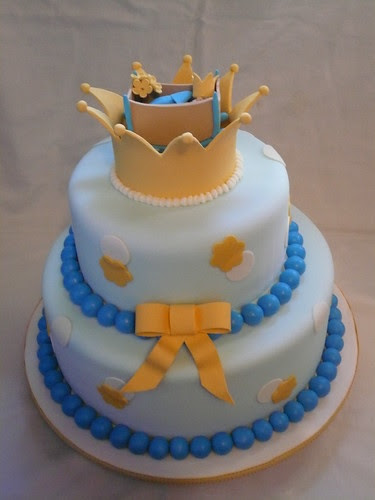 Royal Baby Cake