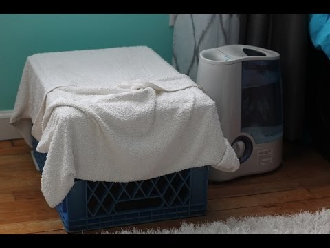 Free Humidifier In Winter Towel Over Heat Vent