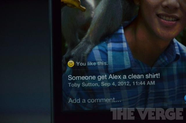 Siri possibilita compartilhamento via Facebook (Foto: The Verge)