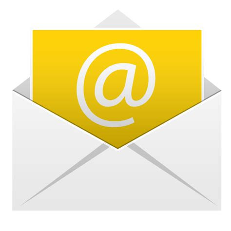 email icon android application icons softiconscom