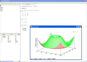 """L'immagine """"http://upload.wikimedia.org/wikipedia/commons/thumb/f/fb/Octave_workshop_screenshot.png/300px-Octave_workshop_screenshot.png"""" non può essere visualizzata poiché contiene degli errori."""