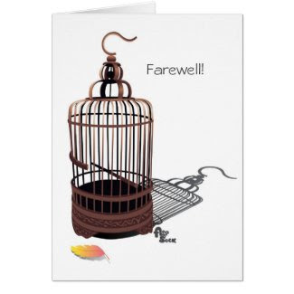 Freebird Farewell Card