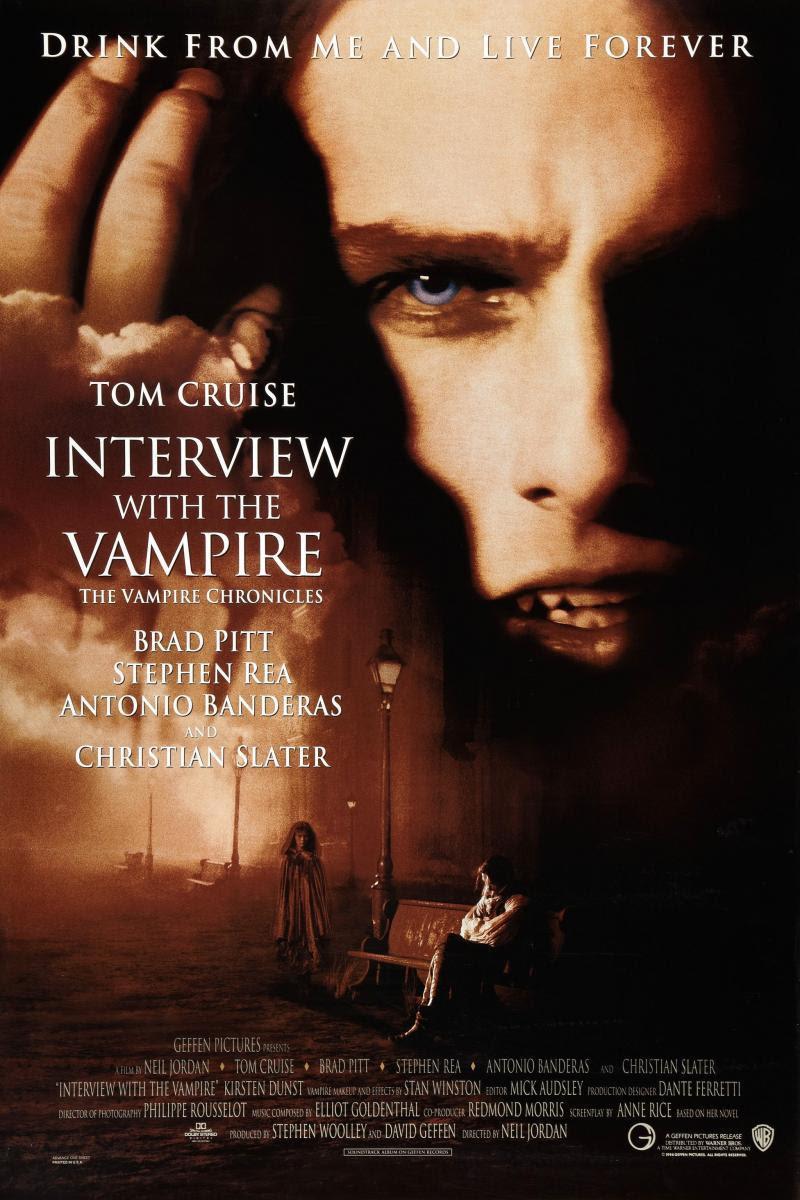 póster de Entrevista con el vampiro