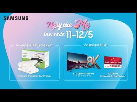 TV Samsung | Khuyến mãi Ngày Của Mẹ Day 1
