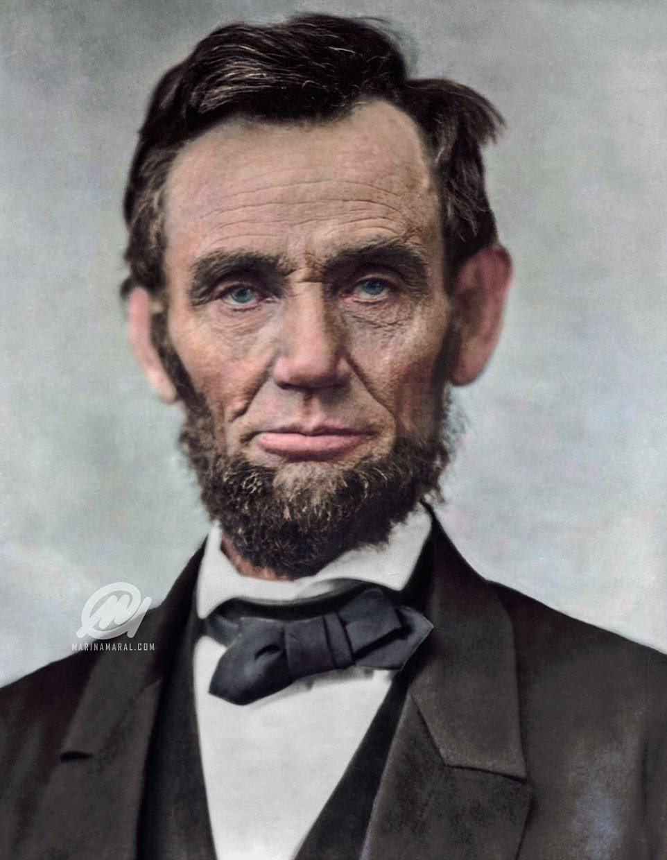 Moderniser: The 16th President of the United States, Abraham Lincoln, served from March 1861 until his assassination in April 1865. Lincoln is pictured here in 1863 at the age of 54