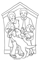 Dulemba Coloring Page Tuesday More Family