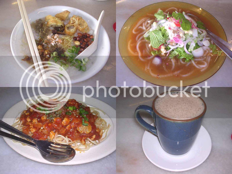 Kocha Kopitiam Dishes