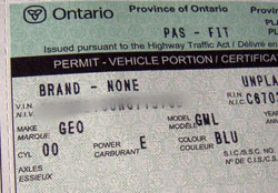 Insuring, registering an electric conversion in Ontario ...