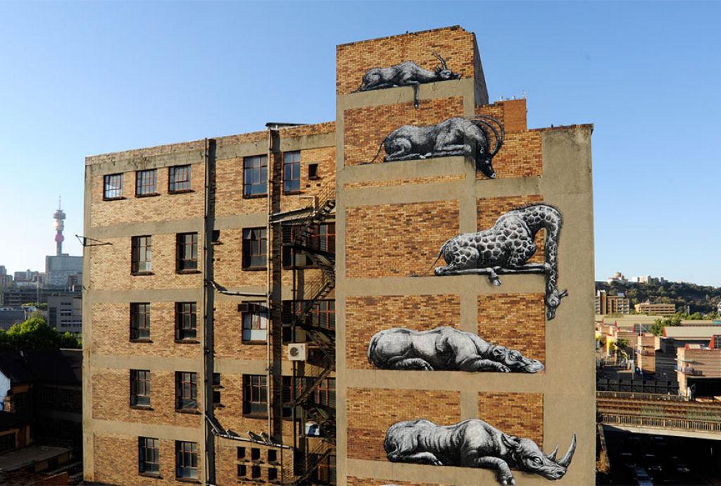 24 eloquentes obras de arte urbana mostrando a desagradável verdade 10