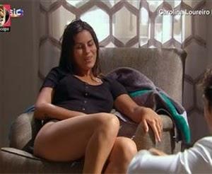 Carolina Loureiro super sensual na novela Nazare