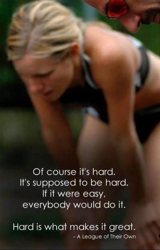 If Running Were Easy
