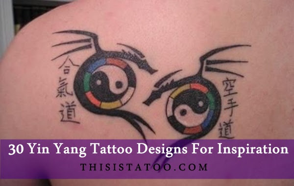 30 Yin Yang Tattoo Designs For Inspiration