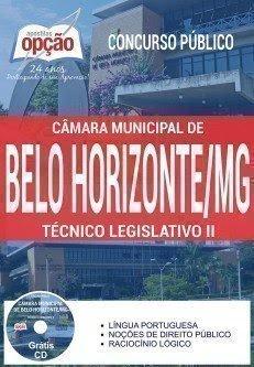 Apostila concurso da Câmara de BH 2017 para Técnico Legislativo CMBH