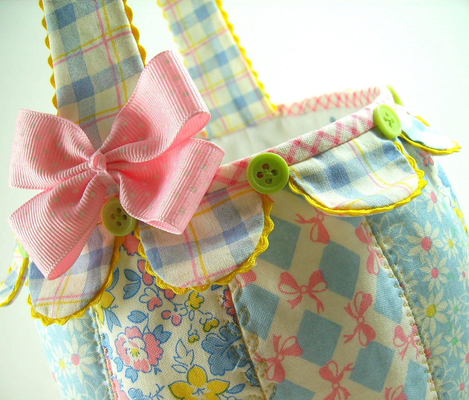 Easter Basket PDF Sewing Pattern Tutorial .. NEW