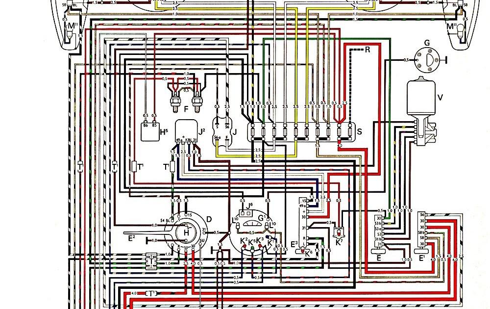 31 Vw Bug Wiring Diagram