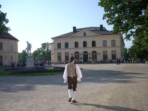Drottningholm Palace Theatre by Asplund