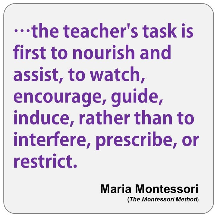 Image result for Maria Montessori Quotes