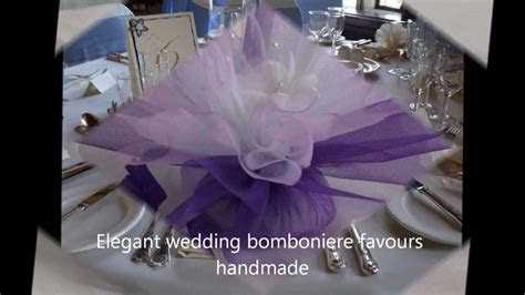Elegant and Unique Wedding Bomboniere Favours Ideas   YouTube